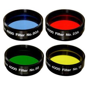 """Meade Juego de filtros de color de 1,25"""" de la serie 4000"""