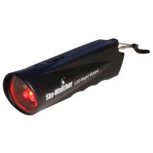 Skywatcher Torcia per uso astronomico Pila a luce rossa a doppia funzione con regolatore a doppia funzione