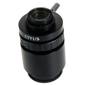 """Euromex Adattore Fotocamera Adattatore camera NZ.9833, C-Mount, lenti 0,33x per 1/3"""""""