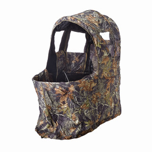 Stealth Gear Camouflage tent, 1 person, with chair