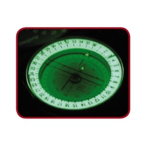 K+R MERIDIAN PRO sighting compass with inclinometer