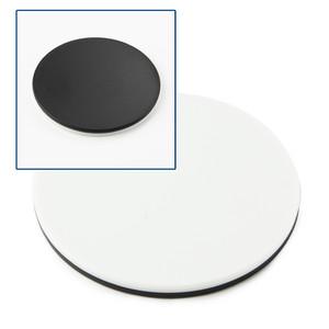 Euromex Tavolino portaoggetti bianco/nero 60 mm SB.9956