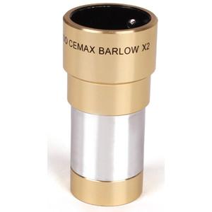 "Lentille de Barlow Coronado Cemax 2x 1,25"""