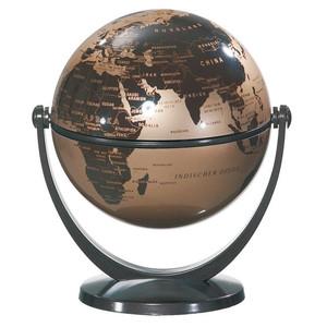 Stellanova Mini-Globus Dreh-Schwenk Globus, goldmetallic-braun 10cm
