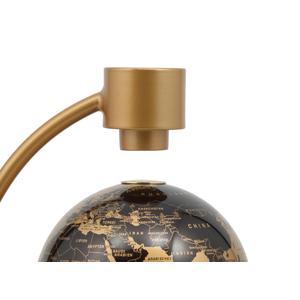 Stellanova Globe en lévitation or métallisé 10cm