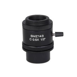 """Motic Adattore Fotocamera Adattatore camera 0,4x; C-Mount, 1/2""""& 2/3"""" (SMZ-140)"""