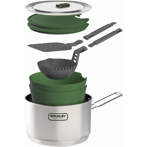 Stanley Adventurre Prep + Cook set 10 pezzi stoviglie outdoor
