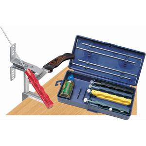 Lansky Sharpeners Lansky deluxe sharpening set with 5 sharpening stones
