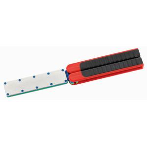 Lansky Sharpeners Diamond sharpener, foldable, double-sided medium-fine