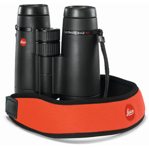 Leica Tracolla in neoprene juicy orange