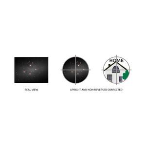 Omegon Cercatore 6x30, nero a immagine raddrizzata