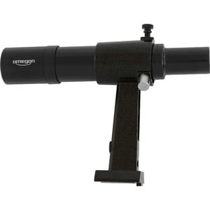 Omegon 6x30 finder scope, black