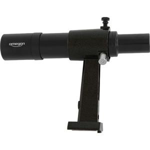 Omegon Telescopio visor buscador 6x30 en negro