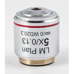 Motic Obiettivo CCIS acromatico LM PL 5x/0,13 (AA = 20,3 mm)