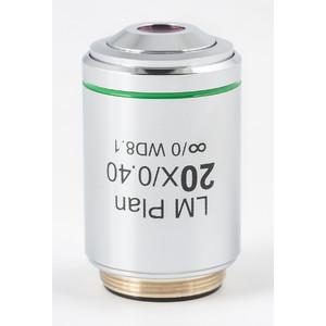 Motic Obiettivo CCIS acromatico LM PL 20x/0,4 (AA = 8,1 mm)