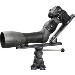 Novoflex Camera bracket QPL-SCOPE A digiscoping support for angled eyepiece spotting scopes
