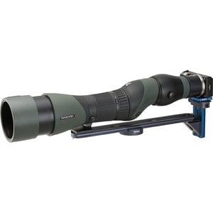 Novoflex Camera bracket QPL-SCOPE S digiscoping support bridge for angled eyepiece spotting scopes