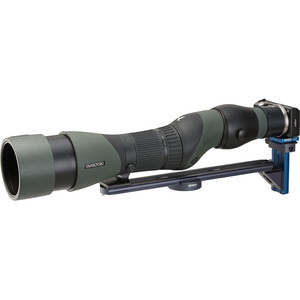 Novoflex Soporte QPL-SCOPE S de digiscoping para catalejos con visor recto