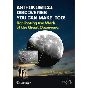 Springer Libro Astronomical Discoveries You Can Make, Too!
