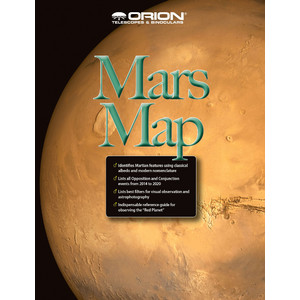 Orion Sternkarte Mars Map