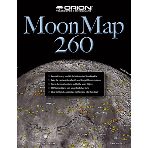 Orion Sternkarte Moon Map 260