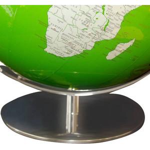 Columbus Globus Artline green Swarovski Zirkonia 34cm