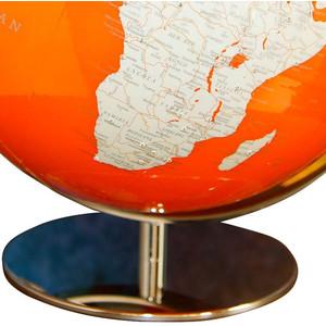 Columbus Globus Artline orange Swarovski Zirkonia 34cm