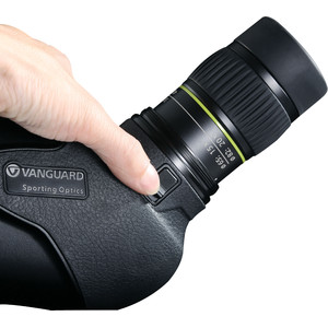 Vanguard Endeavor HD 65A angled eyepiece spotting scope + 15-45X zoom eyepiece