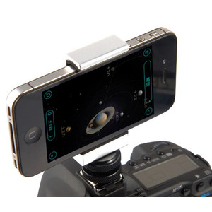 ASToptics Soporte para smartphone con adaptador de zapata