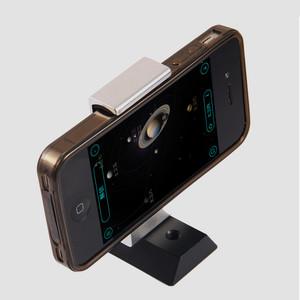 ASToptics Smartphone-Halter mit Prismenschiene für Sucherschuh