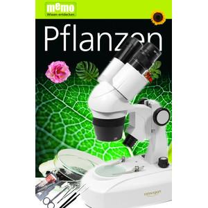 Omegon Stereomikroskopem StereoView, światło przechodzące i odbite, 80x, Zestaw roślin