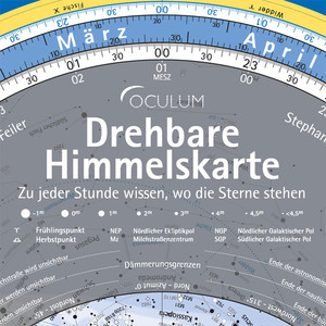Oculum Verlag Carta del cielo girevole