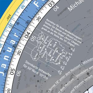 Oculum Verlag Sternkarte Drehbare Himmelskarte