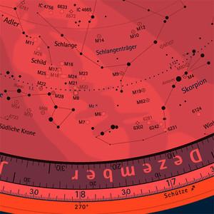 Oculum Verlag Sternkarte Drehbare Himmelskarte 29cm