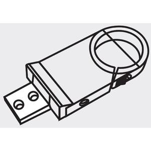 SCHOTT Pinza di montaggio per sorgente luce fredda KL 300, colonne Ø 25 mm