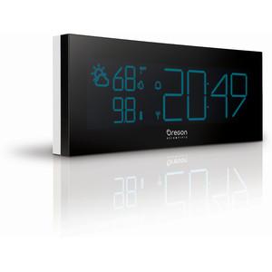 Oregon Scientific Wireless weather station Prysma Chrome BAR 292 radio clock with thermometer, white