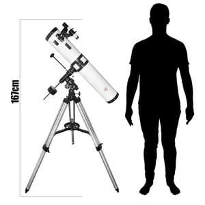 Télescope TS Optics N 114/900 Starscope EQ3-1
