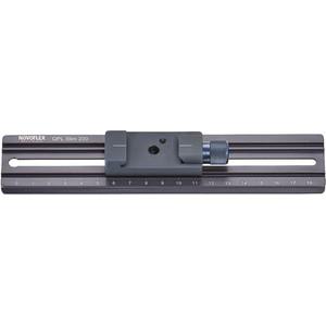 Novoflex QPL Slim 200 Piastra fissaggio 200 x 39 mm con Q=MOUNT Mini