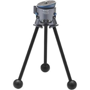 Novoflex TrioBalance C2844 Set treppiede con gambe in carbonio a 4 sezioni mini