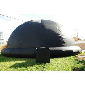 Omegon aufblasbare Kuppel 5 Meter mit Ventilator
