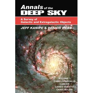 Livre Willmann-Bell Annals of the Deep Sky Volume 3