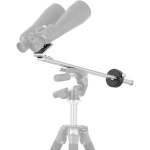 Omegon Montagem binocular mount with counterweight