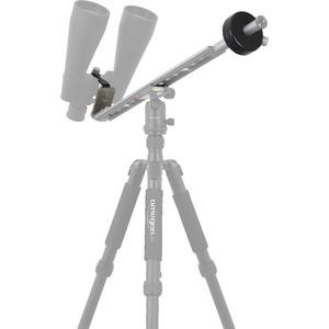 Omegon Monture pantographique pour jumelles astronomiques avec contrepoids