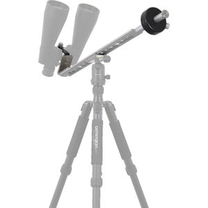 Omegon binocular mount with counterweight