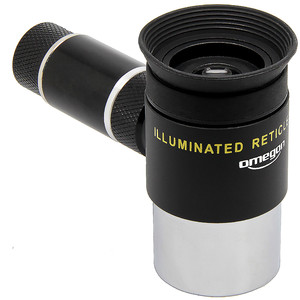 Omegon Illuminated crosshair eyepiece, Kellner 12mm