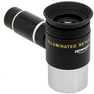 Omegon Reticle eyepieces Illuminated crosshair eyepiece, Kellner 12mm