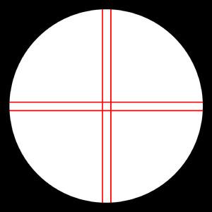 Omegon Ocular cu reticul iluminat  Kellner 12mm