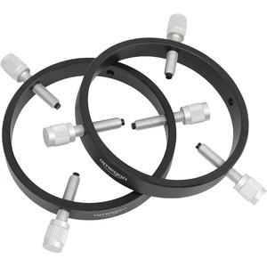 Omegon Abrazaderas básicas para tubo guía de 105 mm