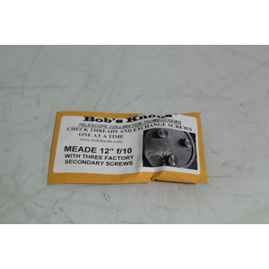 "Bob´s Knobs 12"" Meade SC - metall"