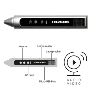 Columbus Entdeckerstift Audio/Video-Pen OID